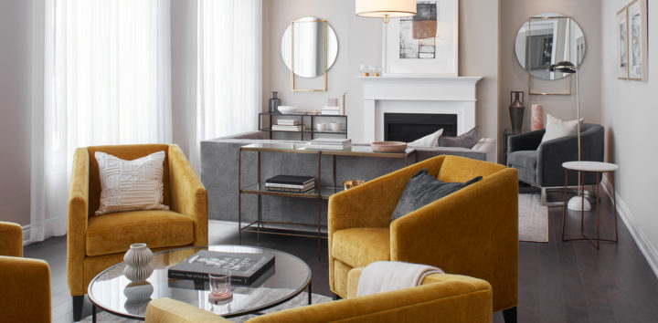 "<h3>If Hosting a Small Soriée: Encourage Conversation with Your Furniture Arrangement</h3>""> </div> <div class="